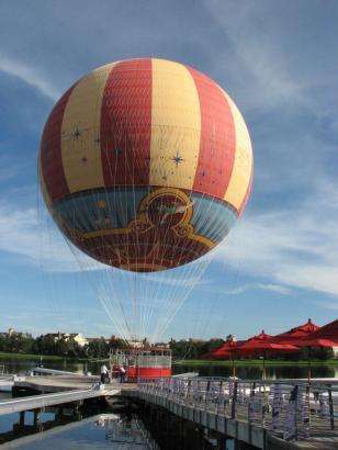 Helium Balloon Downtown Disney