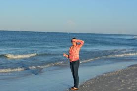 Me on The Beach in Sarasota